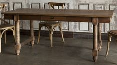 Farm Table with Drawers - a fabulous piece with a practical drawer on each long side. $1309.