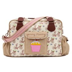 Pink Lining Dalmatian Fever Yummy Mummy Changing Bag SECONDS
