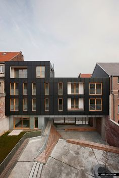 Residential complex Le Lorrain, Brussels, Belgium by MDW Architecture
