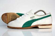 Vintage 70s PUMA FULLHOUSE BOWLING SHOES SNEAKERS TRAINERS 80s 6m 7.5w 5UK 38EU $99