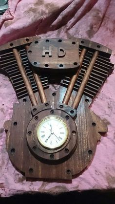 Picture of Harley Davidson Clock