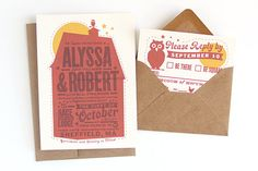 Check out the awesome invitations I found on Pinterest!!