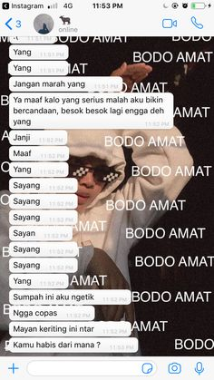 Kalo bukan sayang gua santet ni bocahhh Quotes Rindu, Quotes Lucu, Message Quotes, Reminder Quotes, Text Quotes, Motivational Quotes, Boyfriend Goals Relationships, Cute Relationship Texts, Growing Quotes