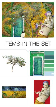 """""""Door"""" by pepitarita ❤ liked on Polyvore featuring art"""