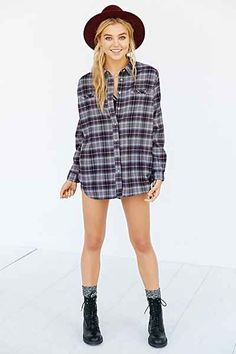 BDG Obie Flannel Button-Down Shirt - Urban Outfitters ($29)