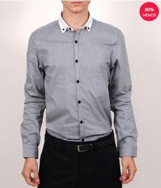 30% de descuento en Camisa de Manga Larga para Caballero, en LOB.  #PromoMap #Promo #Moda