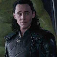 """I laughed at this scene bc when Thor sat on the throne and Heindall said """"Where to?"""", he acted kind of nervous and didn't know. He looked at Loki. Loki was like, """" Bro I have more ruling experience than you! Thor X Loki, Loki Gif, Loki Avengers, Marvel Avengers, Thomas William Hiddleston, Tom Hiddleston Loki, Bucky Barnes, Sebastian Stan, Marvel Characters"""