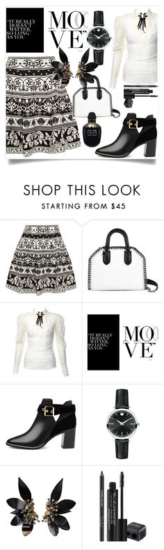 """Untitled #752"" by capm ❤ liked on Polyvore featuring Alexander McQueen, STELLA McCARTNEY, Ted Baker, Movado, Marni and Rodial"