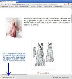 Patrones de Costura para Vestidos y Túnicas. Entra y te mostraremos esto.