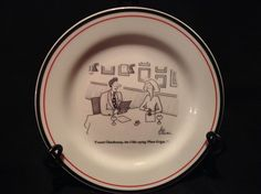 Restoration Hardware THE NEW YORKER Cheese Plates Arnie Levin set of 6 uniqueu2026 & Williams-Sonoma Antico Forno Napoli plates set of 4 | Great Finds ...