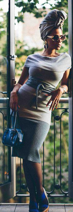 fashionable shades OF GREY Turban: SAKHINO Accessories Model:Miranda Photography:SAKHINO.COM Stylists & Creative Concept:SAKHINO.COM