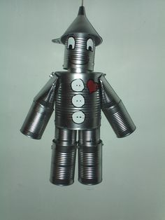 Hand Crafted Original Tin Can Man The by TheTinManConnection