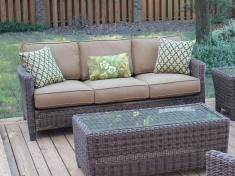 Outdoor Resin Wicker Couches & Loveseats \\ Wicker Central.com