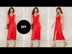 How to Make a Wrap Dress | Teach Me Fashion - YouTube
