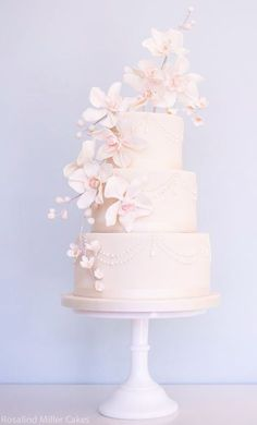 Featured Cake: Rosalind Miller Cakes; Wedding cake idea.