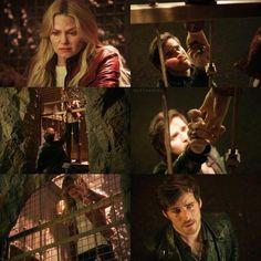 "Emma Swan and Killian Jones - 5 * 20 ""Firebird"" #CaptainSwan"