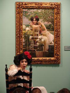 La Malvaloca cobra vida para la Exposición García Ramos en la pintura sevillana (2013)