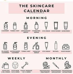 Skin Care Routine Steps, Skin Routine, Morning Skincare Routine, Exfoliate Face, Facial Massage, Healthy Skin Care, Face Skin Care, Tips Belleza, Health And Beauty Tips