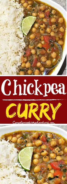 Today I am sharing my favorite recipe for Chickpea Curry! #chickpea #curry #thai #green #indian #fusion #recipe #onions #tomato #tomatoes #vegan #vegetarian #paleo