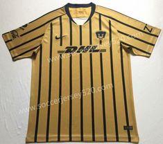 4b3618f39 2018-2019 Pumas UNAM Away Yellow Thailand Soccer Jersey AAA