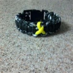 support our troops paracord bracelet - Support Our Troops Silicone Bracelet