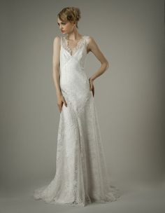 Designer Wedding Dresses and Gowns: Elizabeth Fillmore Slinky Wedding Dress, Wedding Dress Finder, Wedding Dresses 2014, Designer Wedding Dresses, Dallas, 1920s Inspired Dresses, Elizabeth Fillmore, Wedding Dress Gallery, Party
