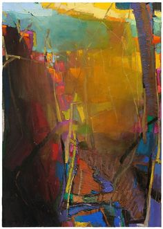 Jerald Melberg Gallery > Artists > Gallery Artists > Gallery Artists - Brian Rutenberg > Rutenberg - Fading 2
