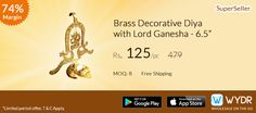Brass Decorative Diya  Free shipping on #wydr App