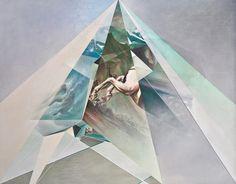 Paintings by Jonathan Saiz.