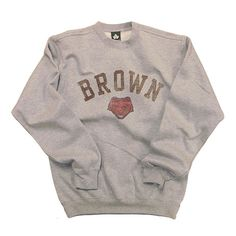 Brown University Team Vintage Sweatshirt #brown_sweatshirt #ivy_league #vintage #mens_fashion $44.95