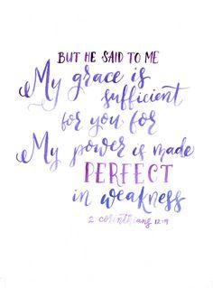 "2 Corinthians 12:9 "" ....My grace is sufficient for you,....""   Seek - a Pursuit Community 21 day Devotional - DAY 5"