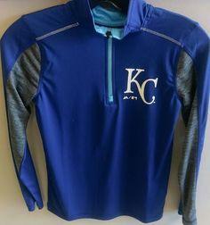 Kansas City Royals Boys Club Series 1/4 Zip Jacket by Outerstuff