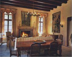 Cote de Texas - Top Ten Design Element blog-beautiful rooms-linen