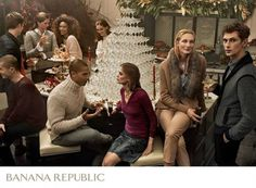 Banana Republic Holiday 2016 Campaign by Gregory Harris