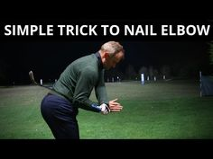 You are currently watching a video about move your right elbow correctly with this simple tip, this video is for all golfers. Ben Hogan Golf Swing, Golf Training Aids, Soccer Training, Golf Downswing, Golf Wedges, Golf Chipping Tips, Golf Stance, Swing Trainer, Volleyball Tips