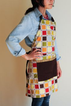 Gender Neutral Reversible Kitchen Apron. $34.65 USD. Made by our talented refugee artisans at We Made This. Get one at www.etsy.com/shop/wemadethisdenver