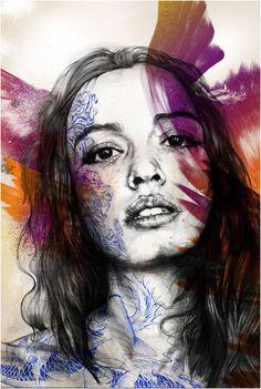 More Info Gabriel, Illusion Kunst, Gcse Art Sketchbook, A Level Art, Identity Art, Portrait Art, Art Boards, Creative Art, Amazing Art