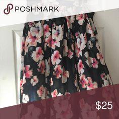 Floral Midi Skirt Asos Floral Midi Skirt ASOS Skirts Midi
