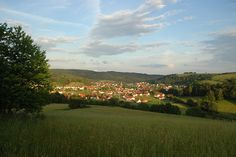 Queidersbach Germany.  First two weeks we lived in Germany, we lived here.  We ended up renting a house in the next village, Linden.  It was such a hard life having to drive through this countryside every day :-)