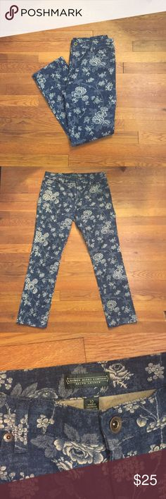 Ralph Lauren Floral Jeans In Great Condition/ From a Smoke Free Environment Lauren Ralph Lauren Jeans Straight Leg