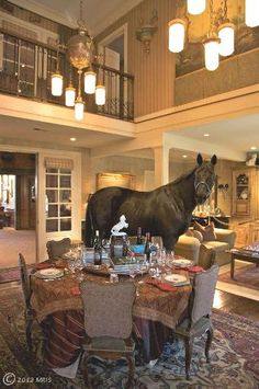 Horse in the house?!