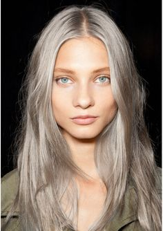 grey hair with light pink hair highlights | Email This BlogThis ...