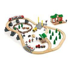 Brio Eisenbahn Großes Landschafts-Set