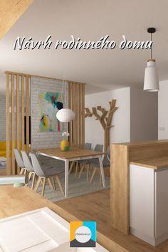 Dizajn interiéru rodinného domu v obci Janovce pri Bardejove. Kitchen, Baking Center, Cooking, Home Kitchens, Kitchens, Cuisine, Stove, Kitchen Floor