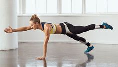 Train your midsection with this at-home workout.