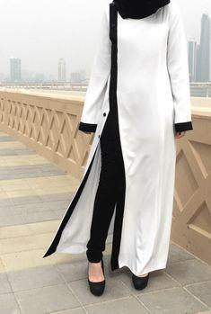 Pearl Abaya / White Abaya / Plus Size Abaya / Abaya with Beads | Etsy