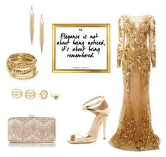 """""""Elegance"""" by ary-polyvore-outfits ❤ liked on Polyvore featuring Zuhair Murad, Via Spiga, L.K.Bennett, LULUS and ABS by Allen Schwartz"""