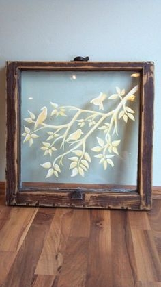Hand painted old windows www.facebook.com/Upcyclery It's about more than golfing, boating, and beaches; it's about a lifestyle KW http://pamelakemper.com/area-fun-blog.html?m: