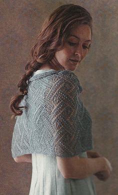 Ravelry: An Elegant Beaded Lace Stole pattern by Anniken Allis