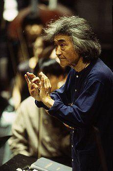 Conductor Seiji Ozawa